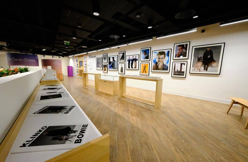 Fujifilm House of Photography store with pictures on the wall