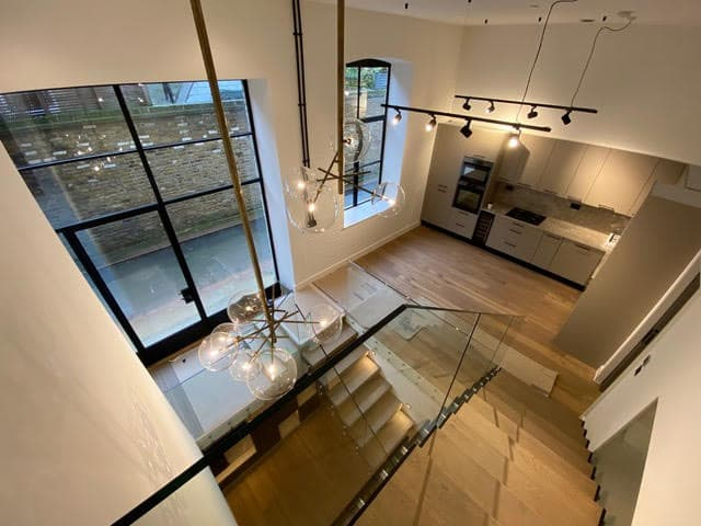 Internal view of mews conversion